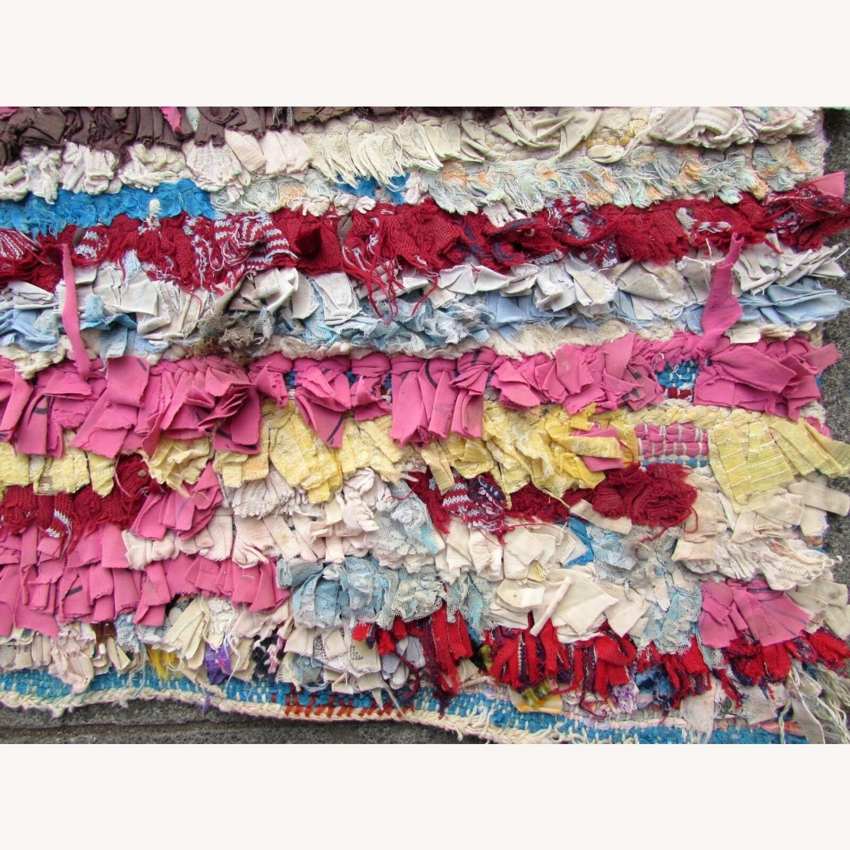 Handmade vintage Moroccan Berber rug - image-2