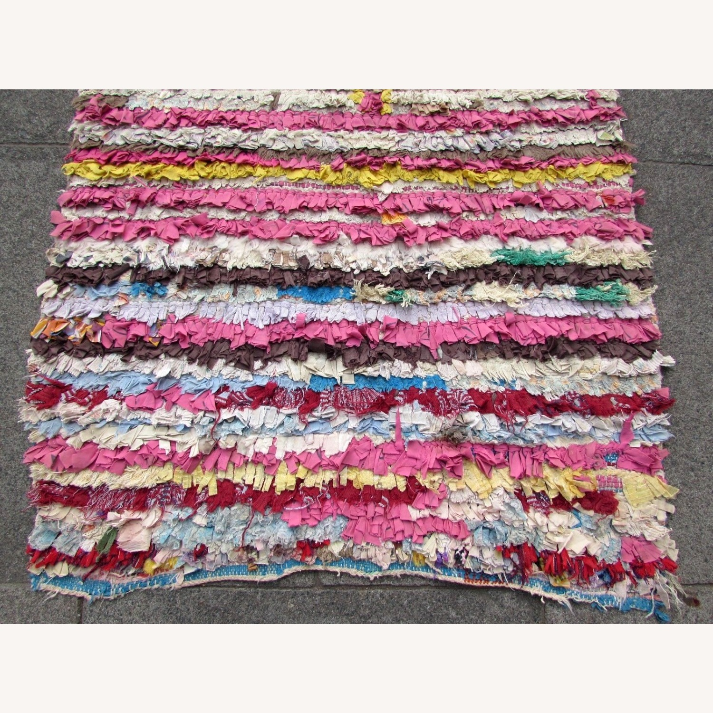 Handmade vintage Moroccan Berber rug - image-7
