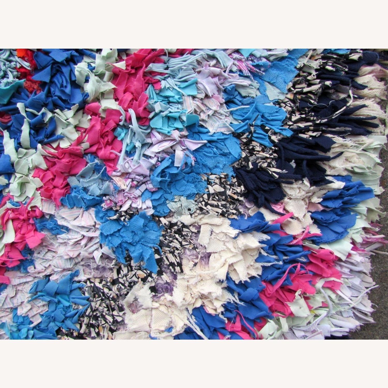 Handmade vintage Moroccan Berber rug - image-3