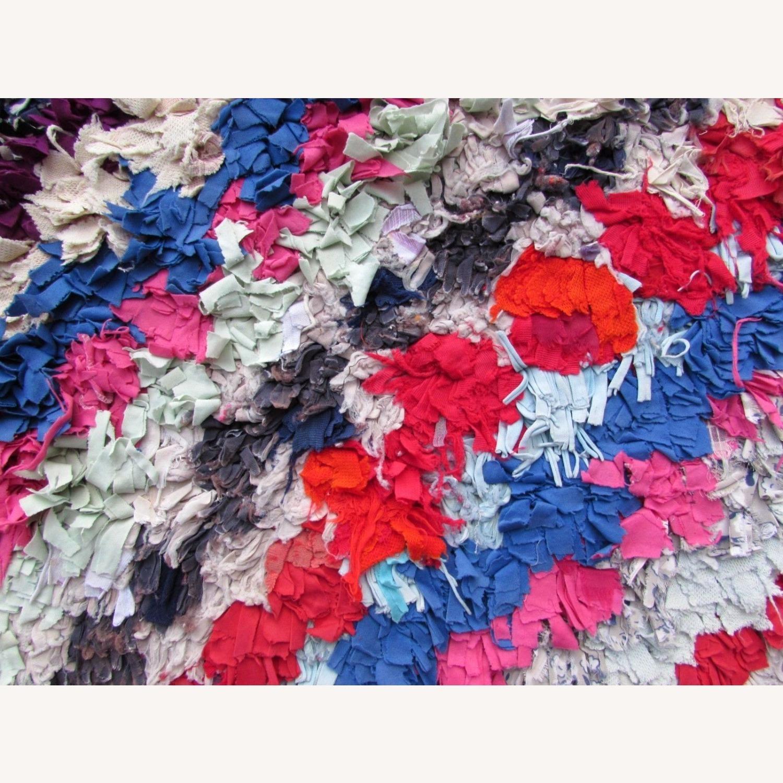 Handmade vintage Moroccan Berber rug - image-5