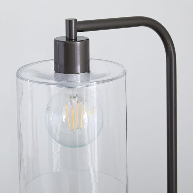 West Elm Lens Table Lamp + USB - image-1