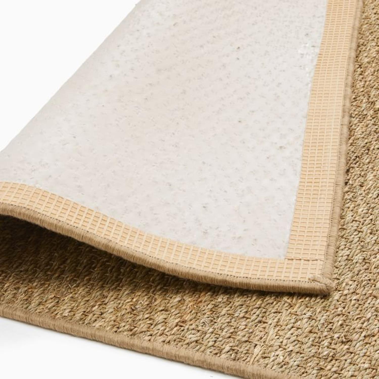 West Elm Mini Braided Seagrass Rug - image-3