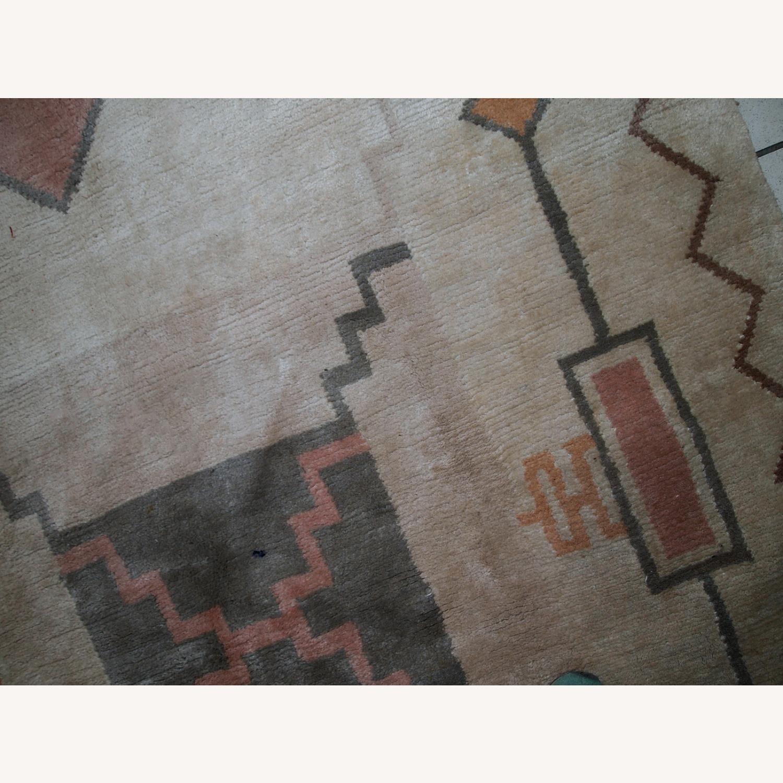Handmade vintage Tibetan Khaden rug - image-3