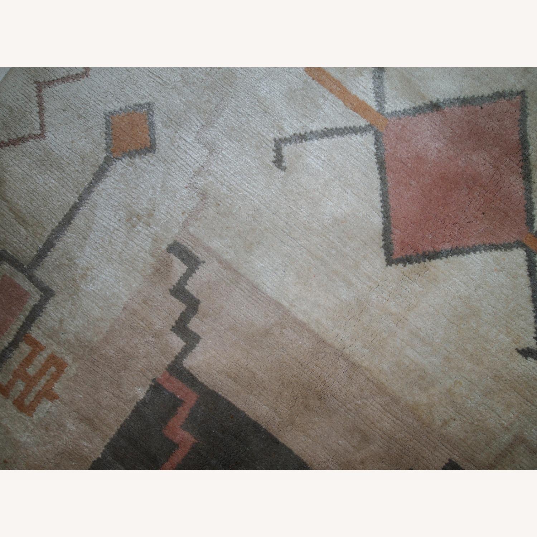 Handmade vintage Tibetan Khaden rug - image-2