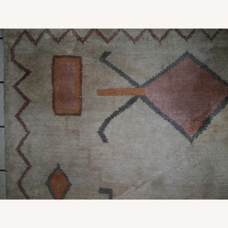 Handmade vintage Tibetan Khaden rug - image-5