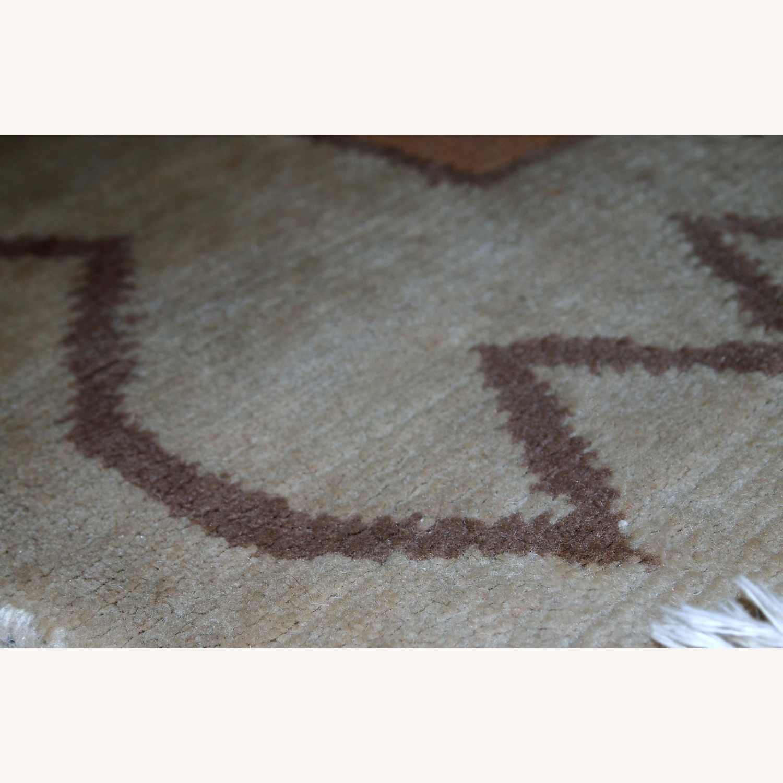 Handmade vintage Tibetan Khaden rug - image-8