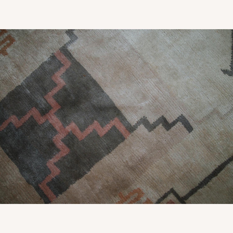 Handmade vintage Tibetan Khaden rug - image-6