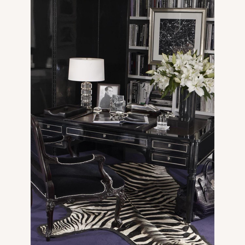 Vintage Real Zebra Hide Rug - image-1