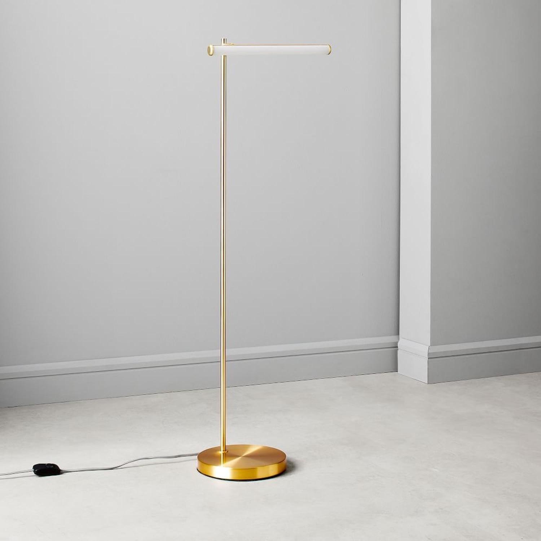 West Elm Light Rods LED Reader Floor Lamp - image-8