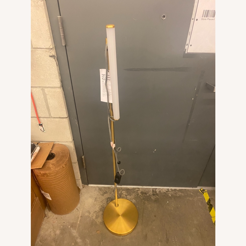 West Elm Light Rods LED Reader Floor Lamp - image-6