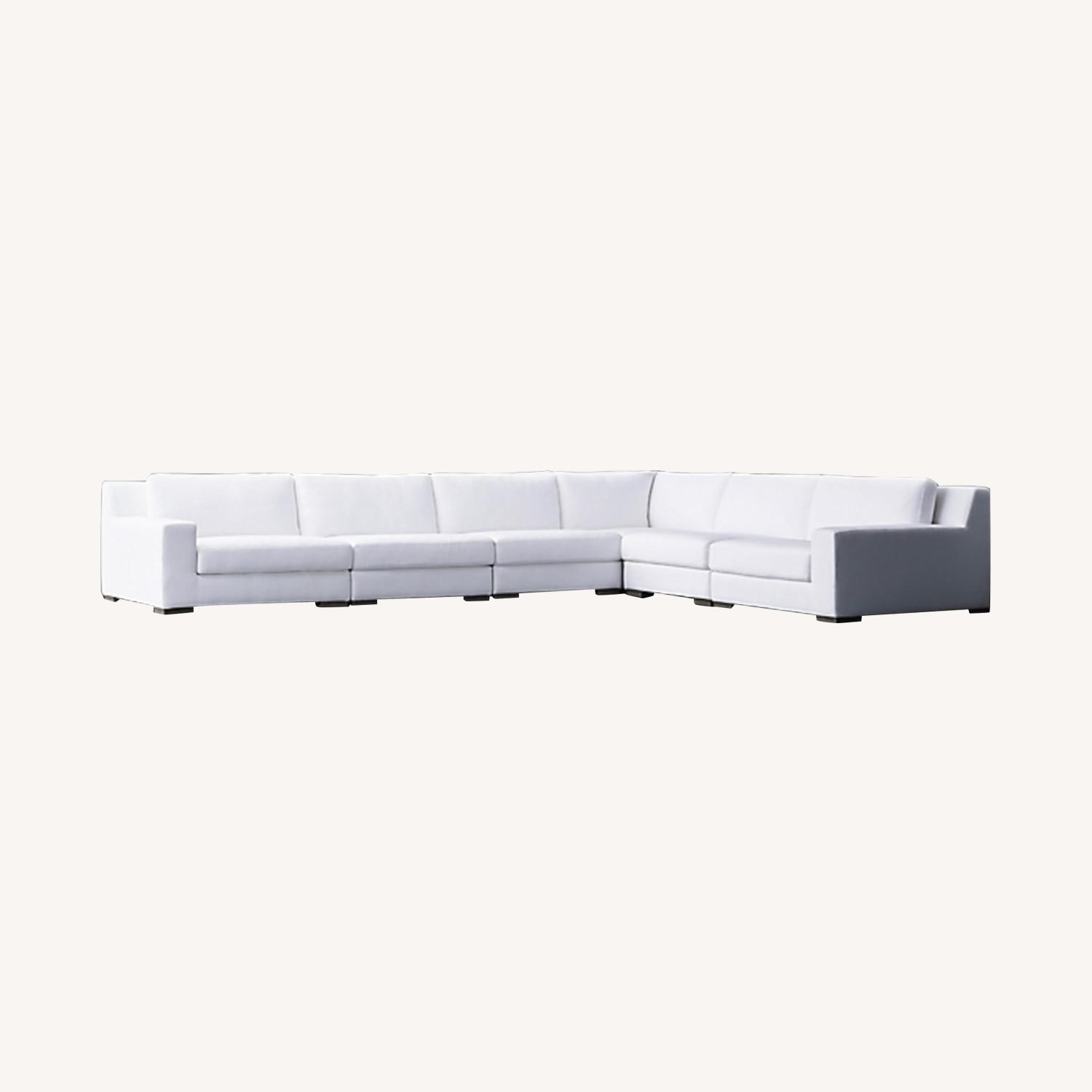 Restoration Hardware Modular Couch Sectional - image-0