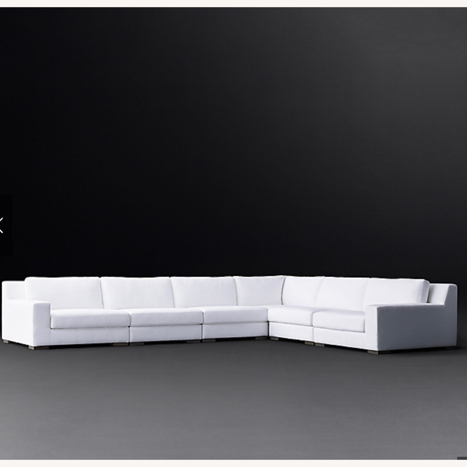 Restoration Hardware Modular Couch Sectional - image-1