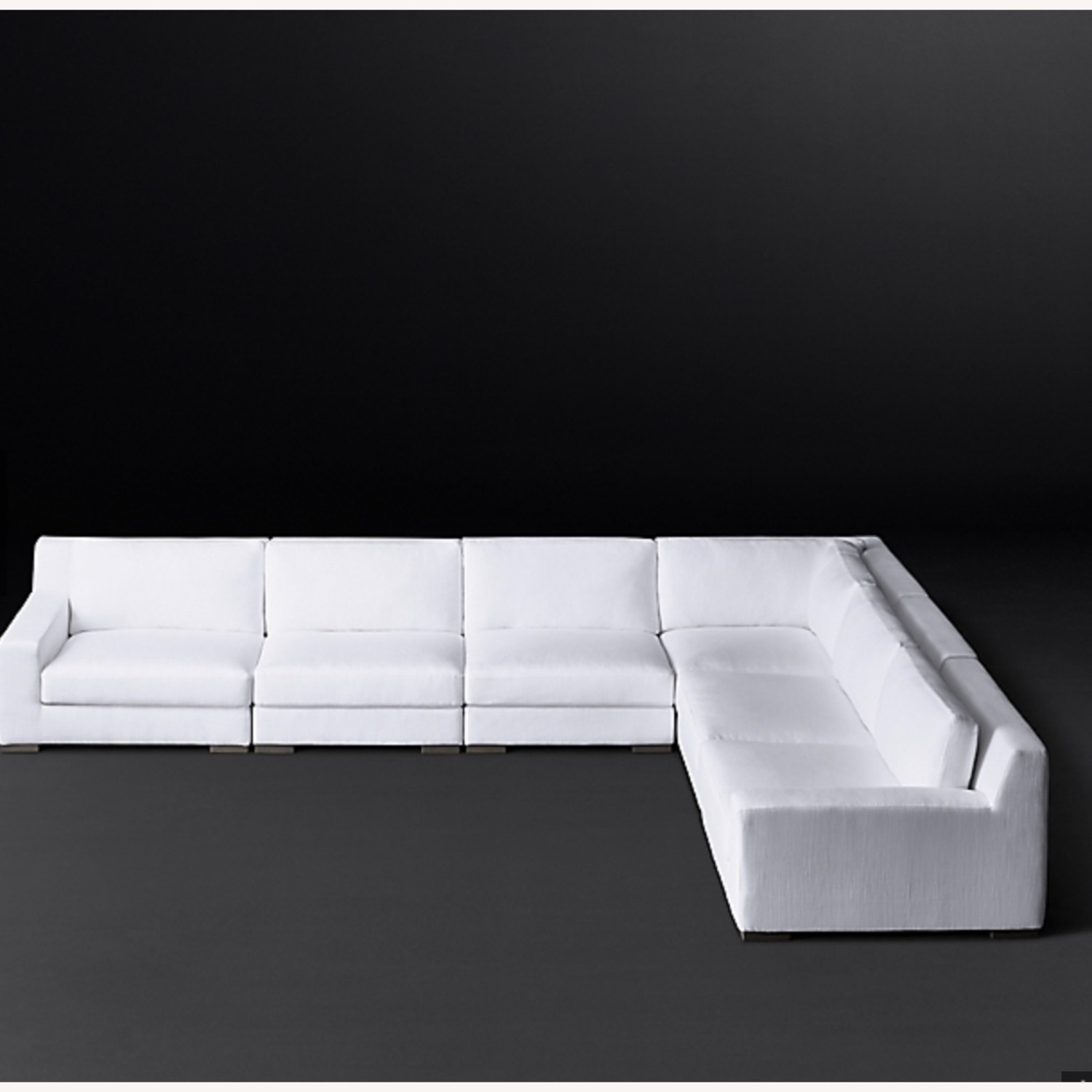 Restoration Hardware Modular Couch Sectional - image-2