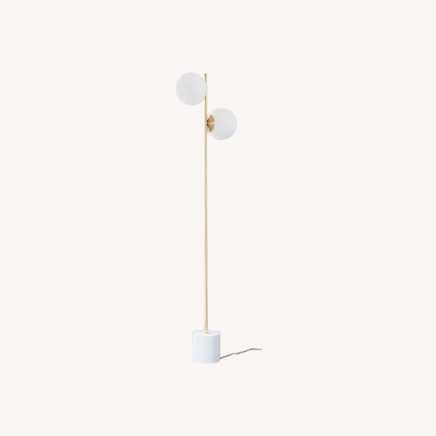 West Elm Sphere & Stem Floor Lamp - image-0