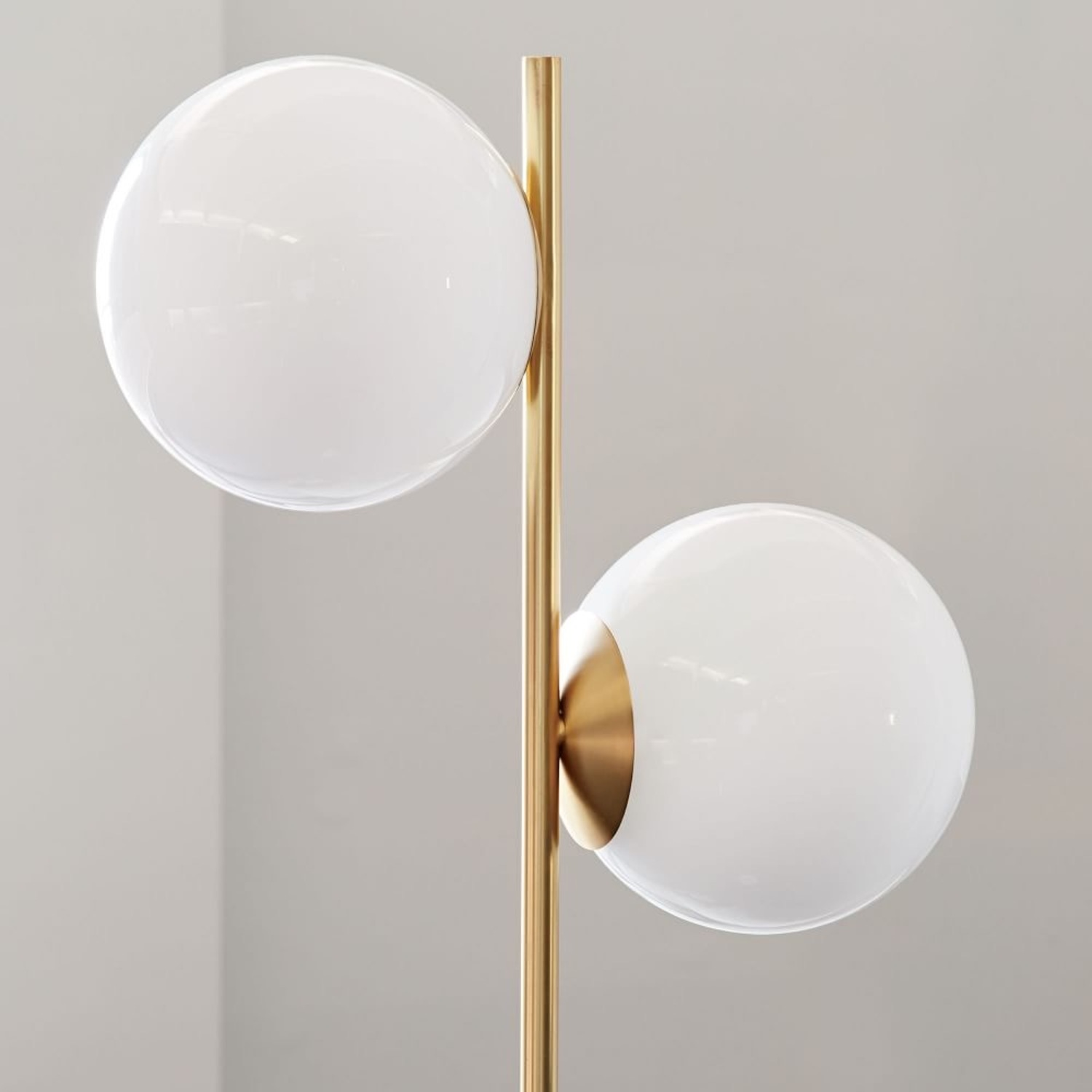 West Elm Sphere & Stem Floor Lamp - image-2
