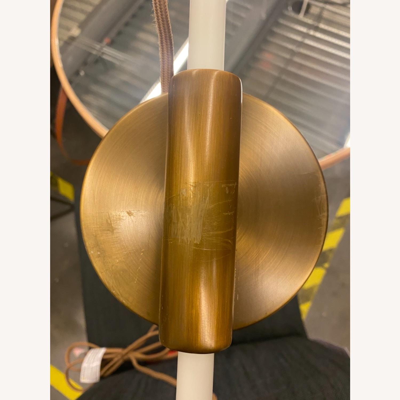 West Elm Cylinder Sconce White - image-4
