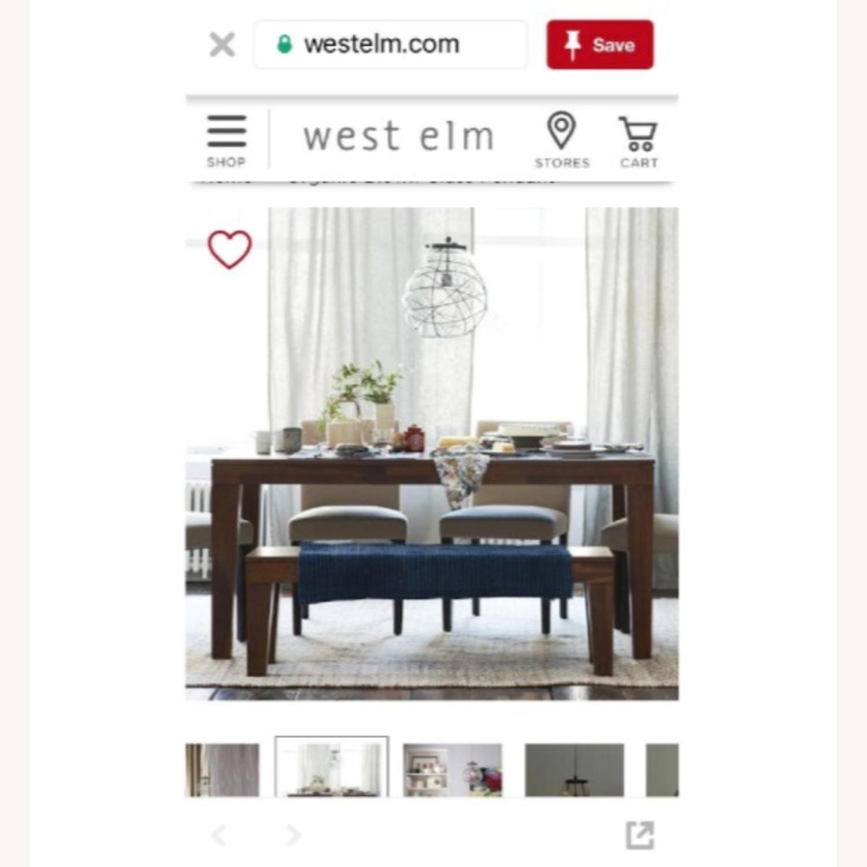West Elm Organic Blown Glass Pendant - image-2
