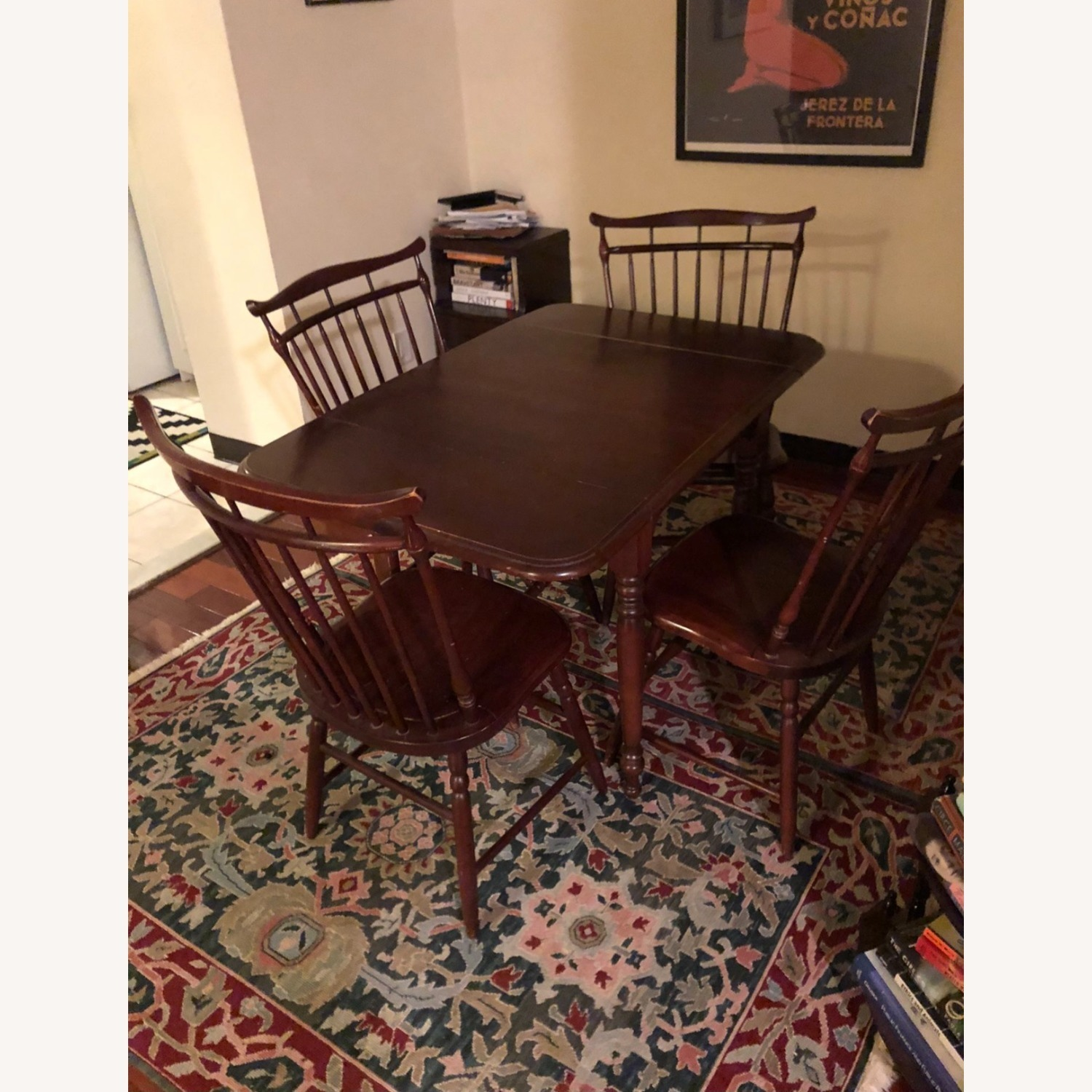 Small Area Dining Table + 4 Chairs - image-4