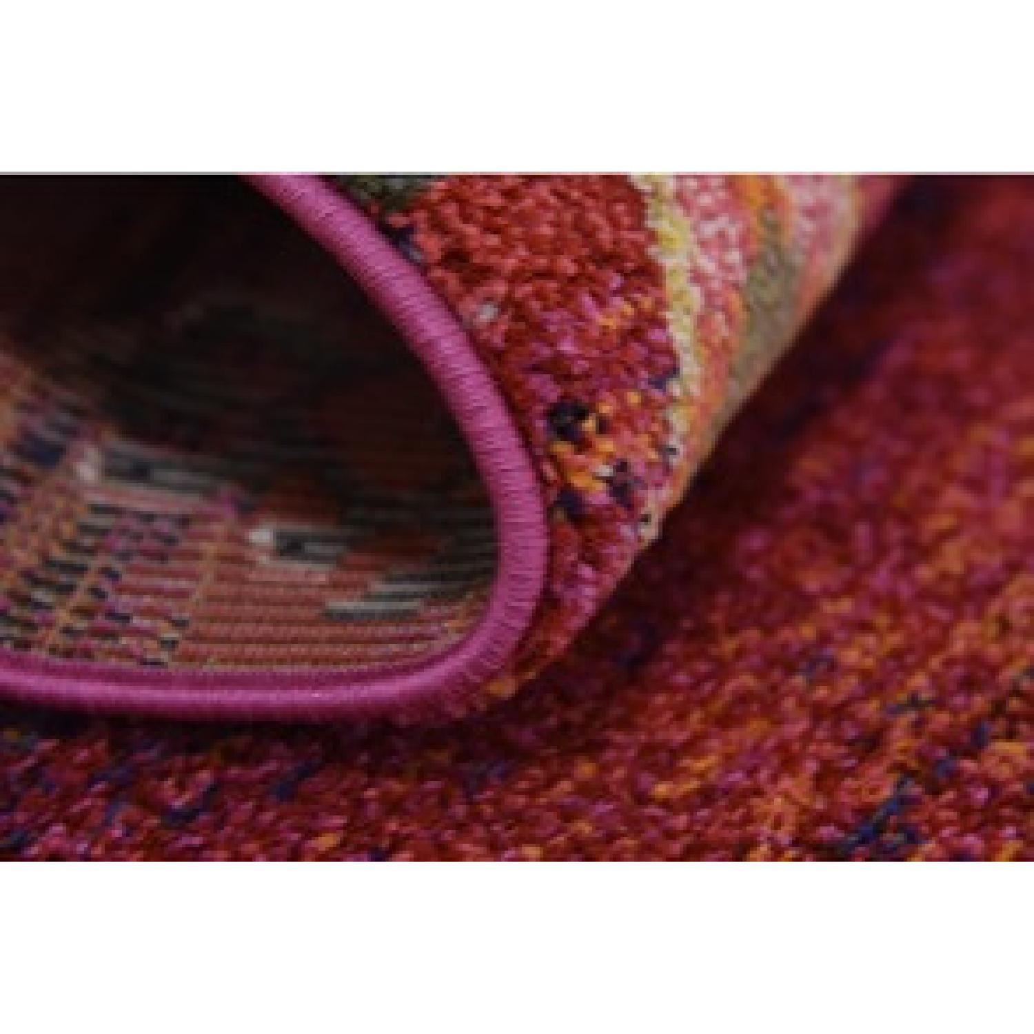 Wayfair Multicolored Red/Pink barely used Area rug - image-1