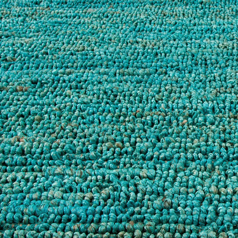 World Market Aqua Jute Area Rug  (5' x 8') - image-2