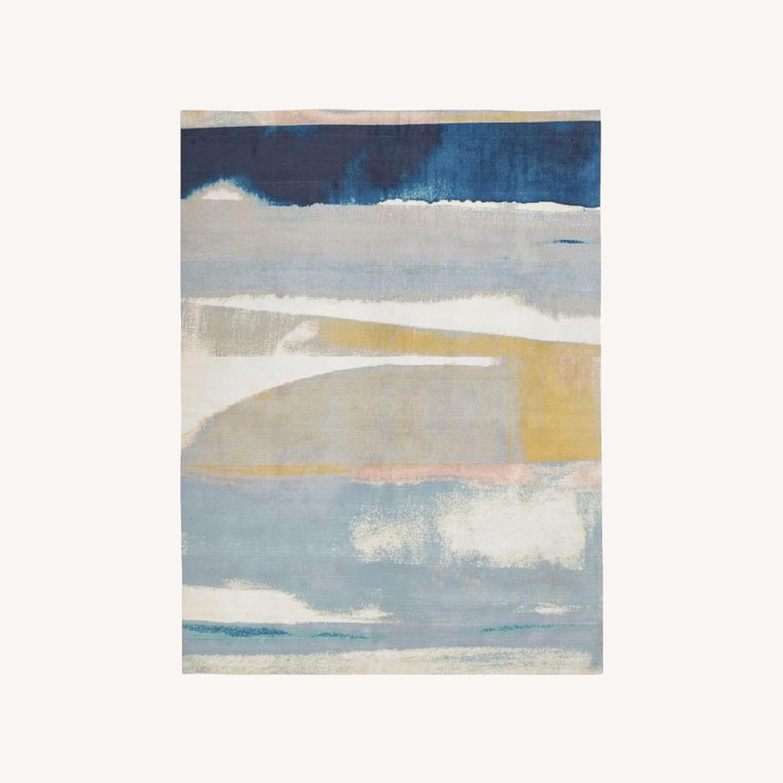 West Elm Sun-Kissed Landscape Rug - image-0