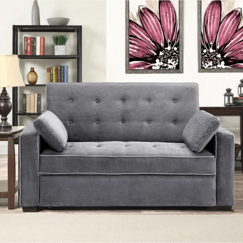 Wayfair Evan 72.6 in Sofa Sleeper. Minimal Use. - image-2