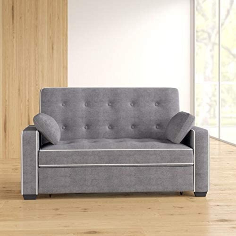 Wayfair Evan 72.6 in Sofa Sleeper. Minimal Use. - image-1