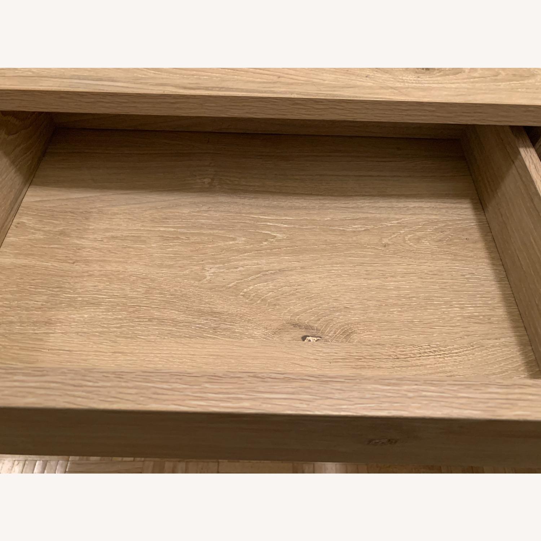 Target Vintage Oak Console Table - image-4