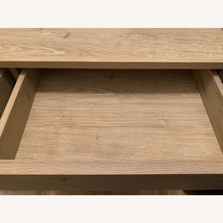 Target Vintage Oak Console Table - image-5