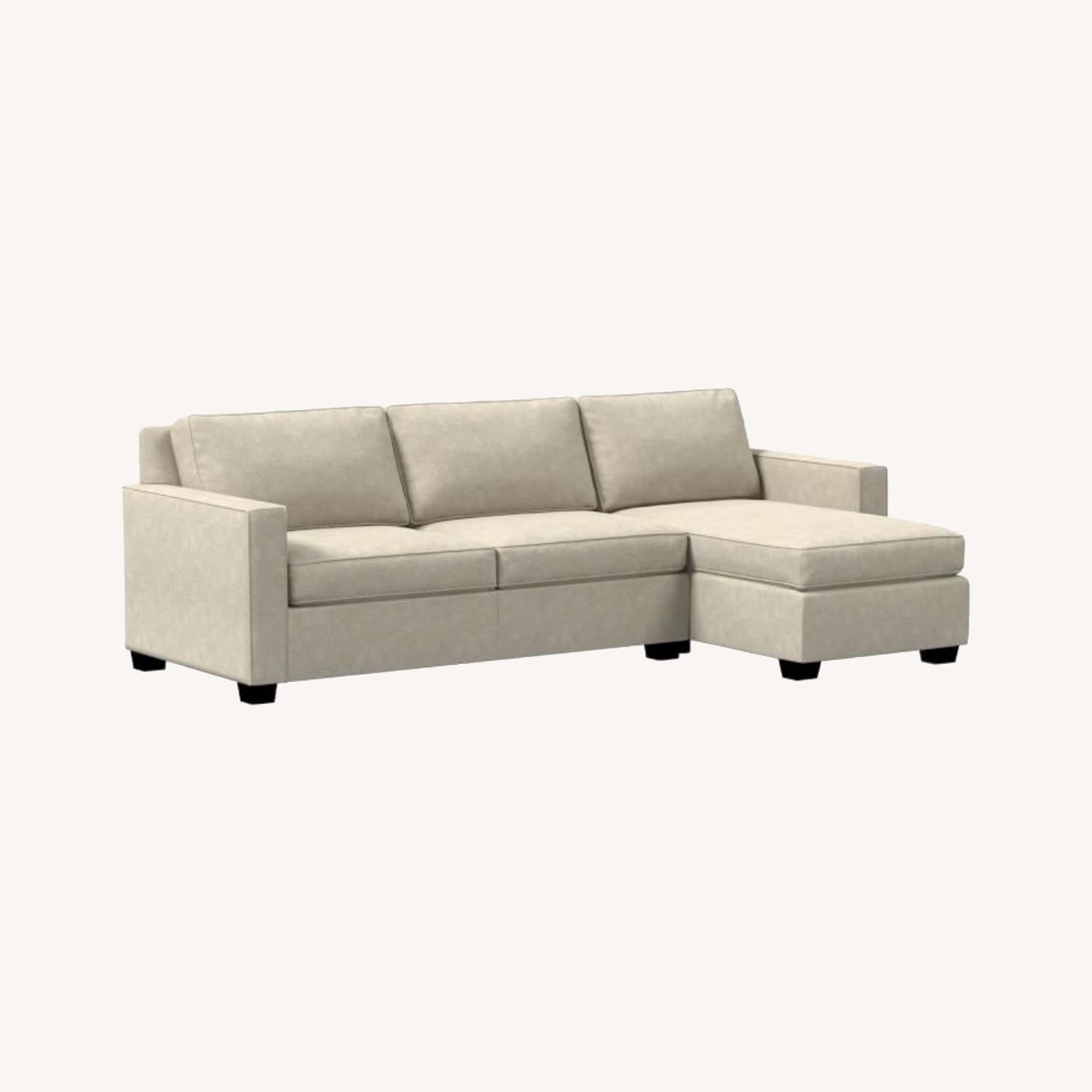 West Elm Henry 2-Piece Full Sleeper Sectional - image-0