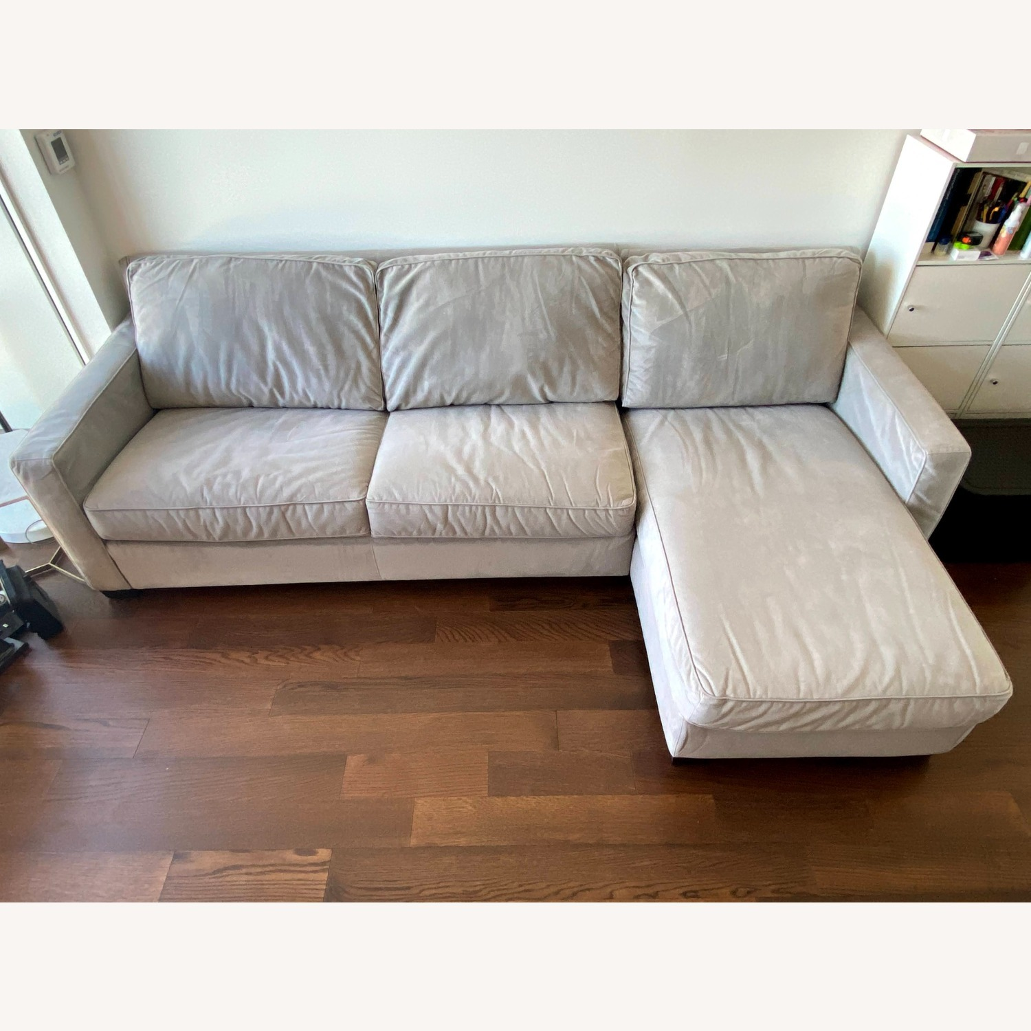 West Elm Henry 2-Piece Full Sleeper Sectional - image-3