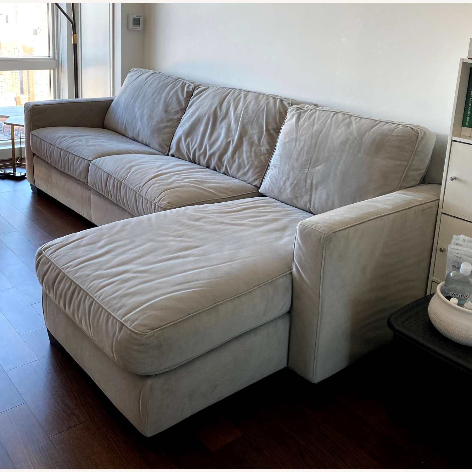 West Elm Henry 2-Piece Full Sleeper Sectional - image-2