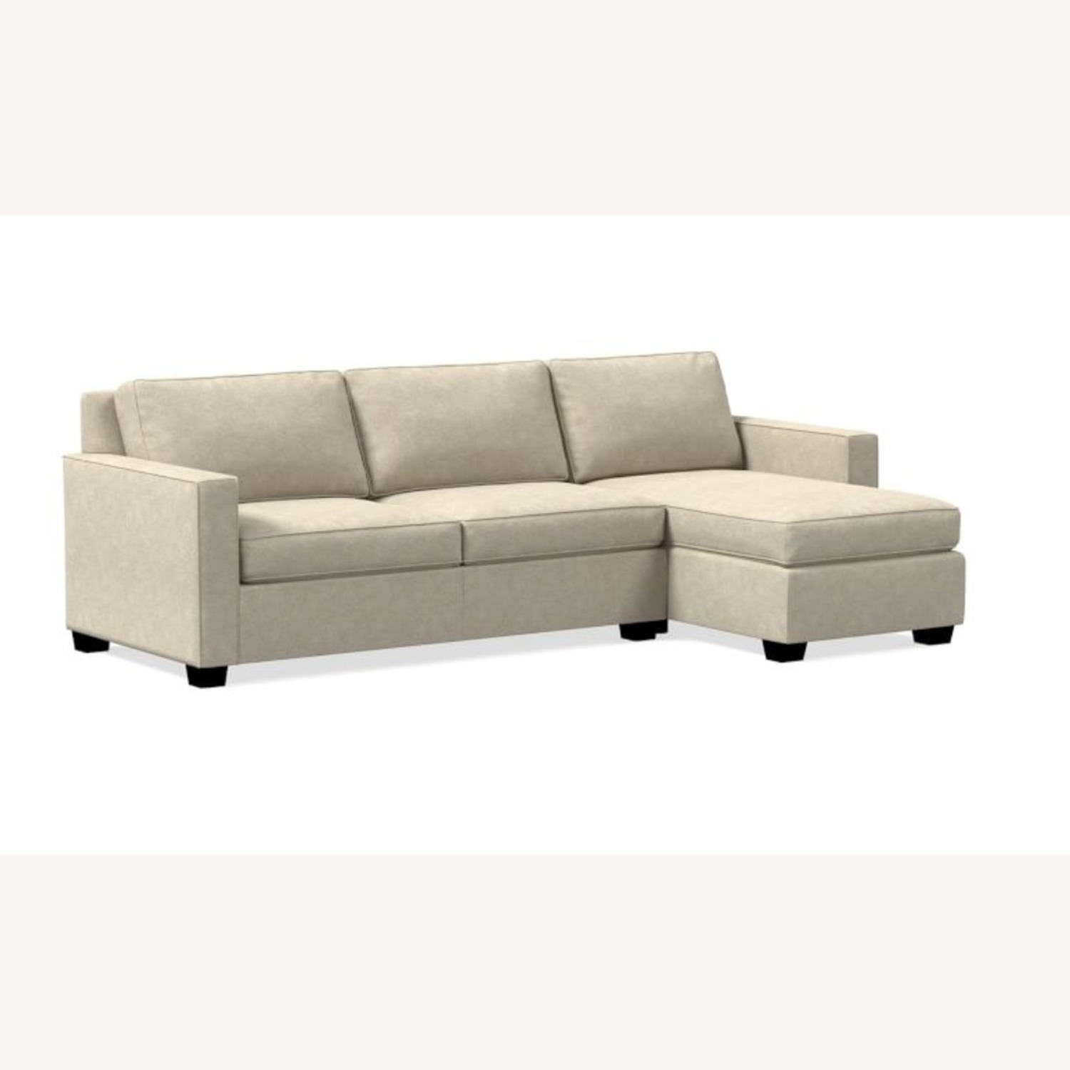 West Elm Henry 2-Piece Full Sleeper Sectional - image-1