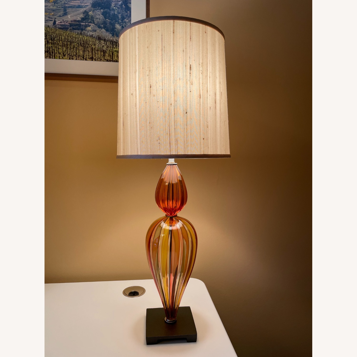 Glass Table Lamp - image-1