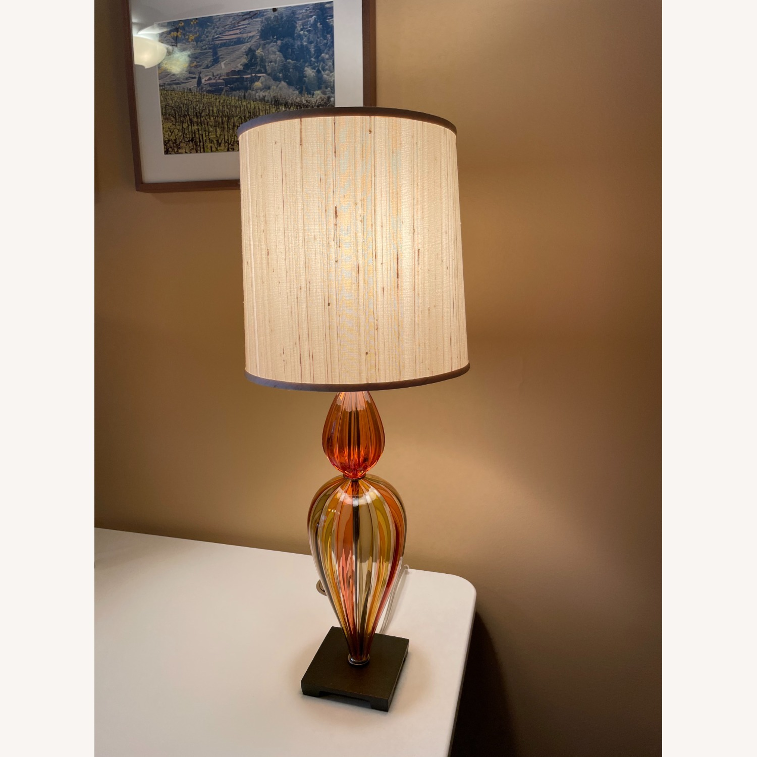 Glass Table Lamp - image-2