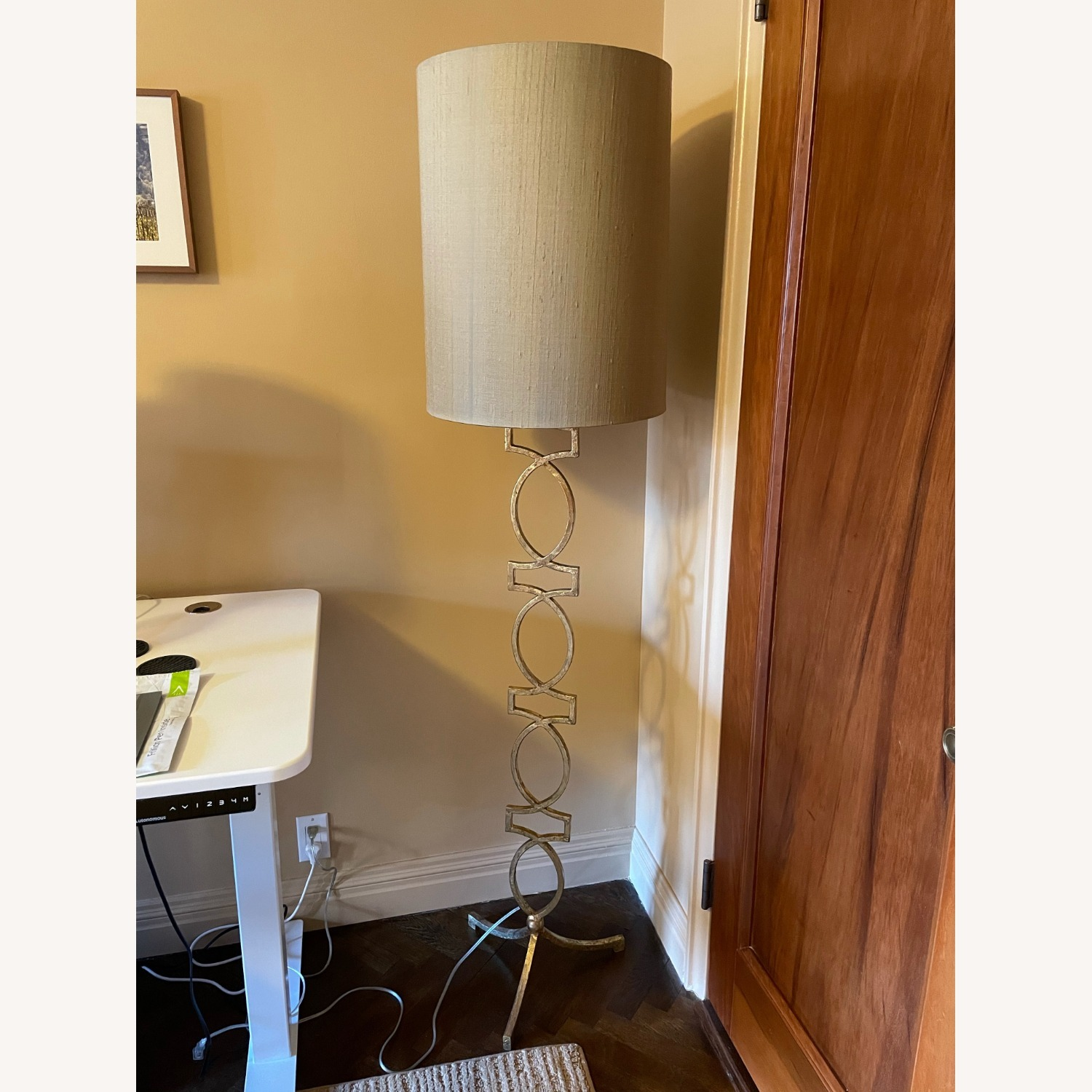 Sophisticated Gold Floor Lamp - image-2