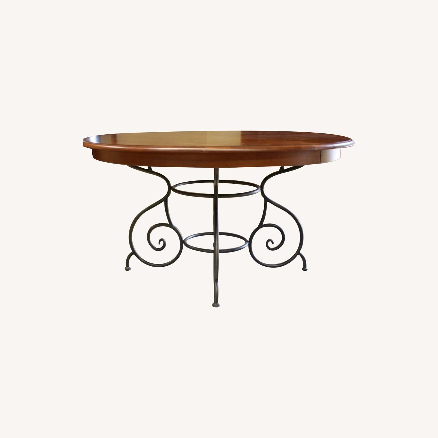 Ethan Allen Maisen Dining Table - image-0