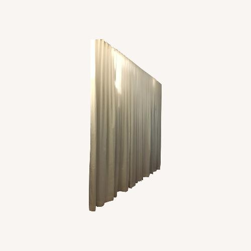 Used Ripple Fold Drapery- Room Divider or Privacy Curtain for sale on AptDeco