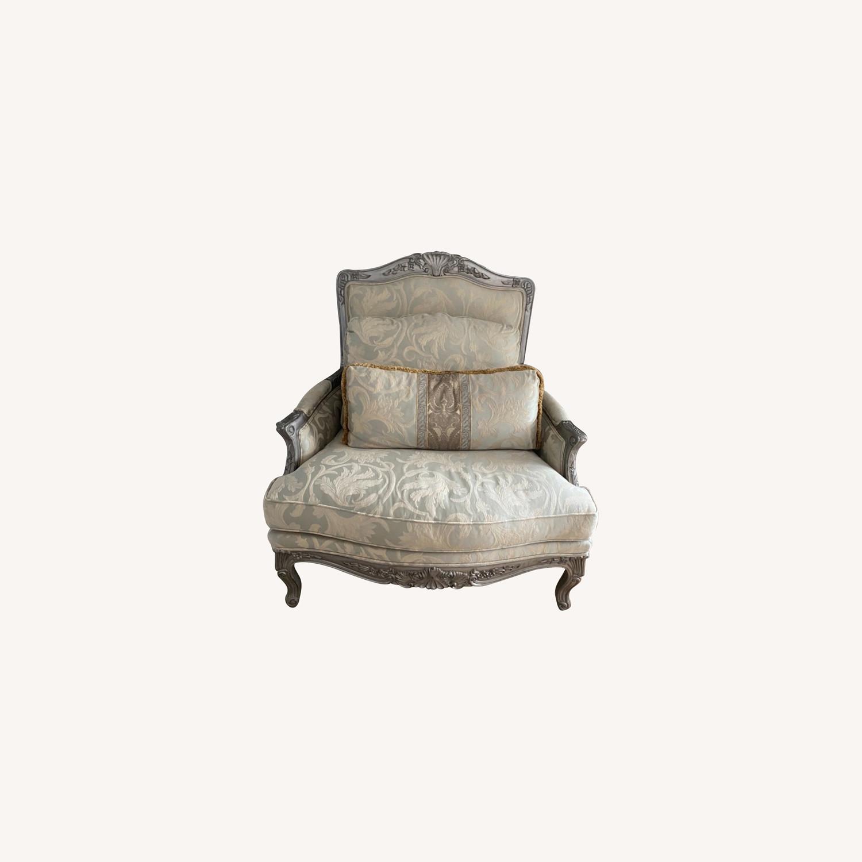 Ethan Allen Bergere Chair - image-0