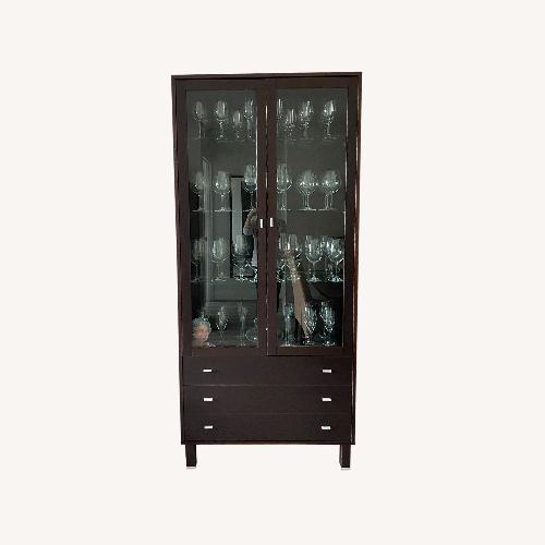 Used BoConcept Glassware China Cabinet for sale on AptDeco