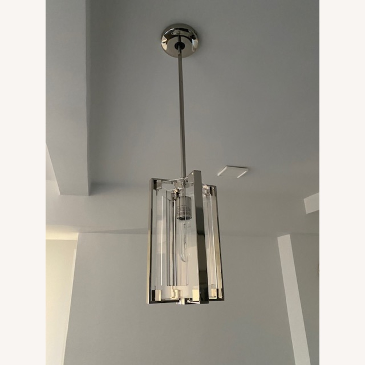 Pair of Hanging Ceiling Lights - image-1