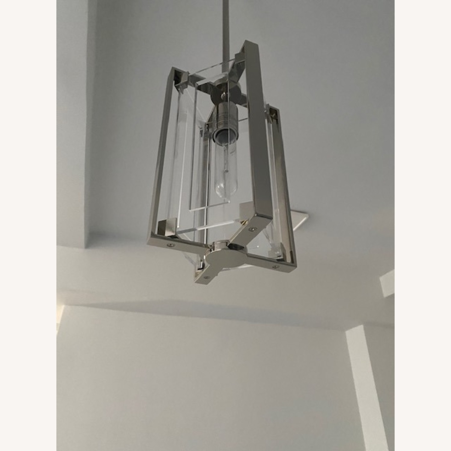 Pair of Hanging Ceiling Lights - image-2