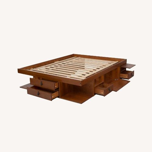 Used Wayfair Wood Platform Bed for sale on AptDeco