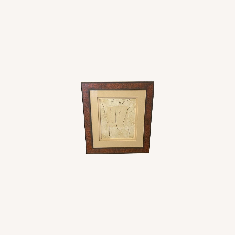 Ethan Allen Art Deco Painting - image-0