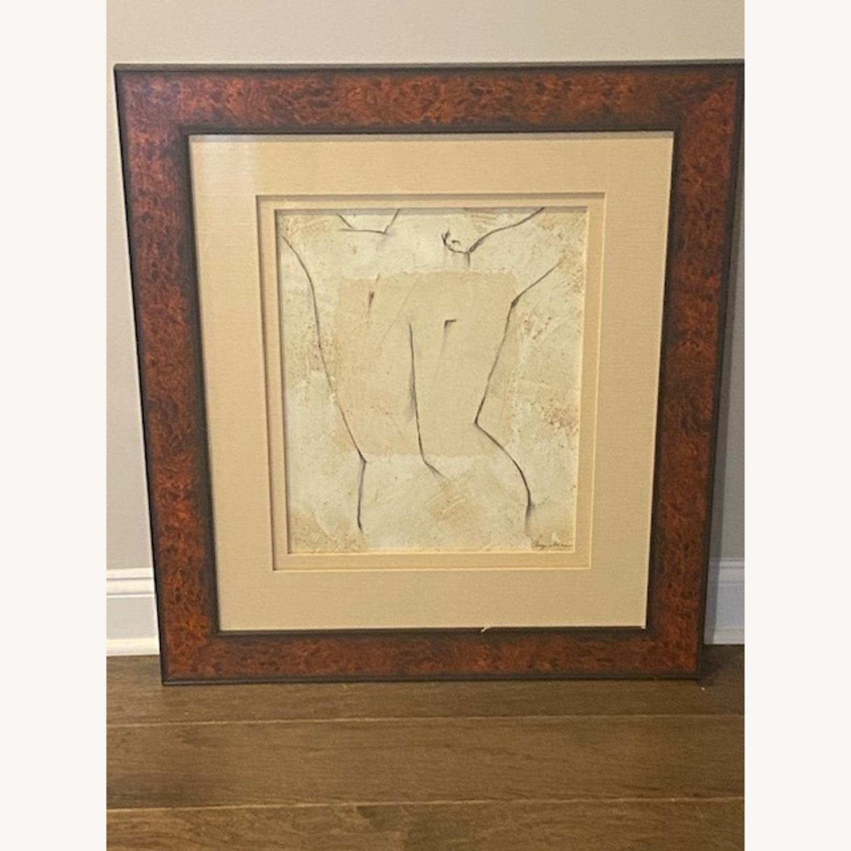 Ethan Allen Art Deco Painting - image-1