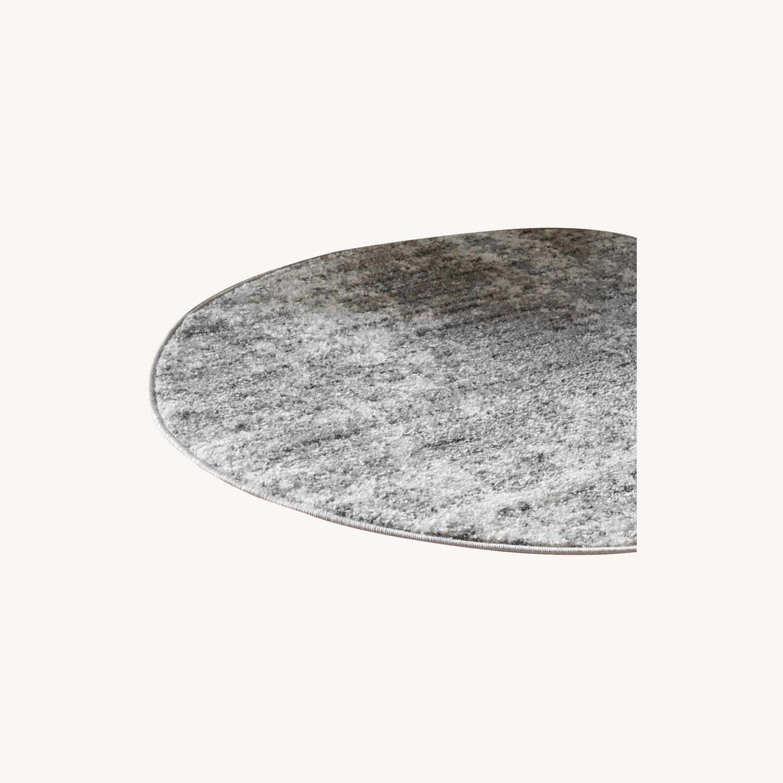 Rugs USA Oval Gray 5 x 8 Rug - image-0