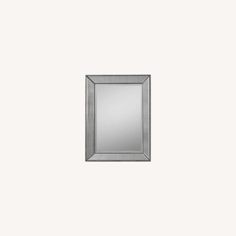 Restoration Hardware Venetian Beaded Mirror - image-0