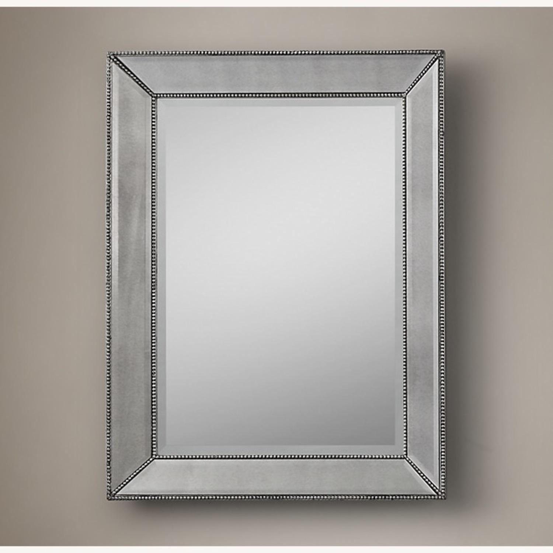 Restoration Hardware Venetian Beaded Mirror - image-1