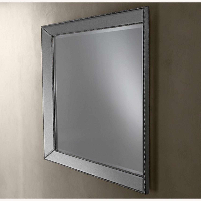Restoration Hardware Venetian Beaded Mirror - image-2