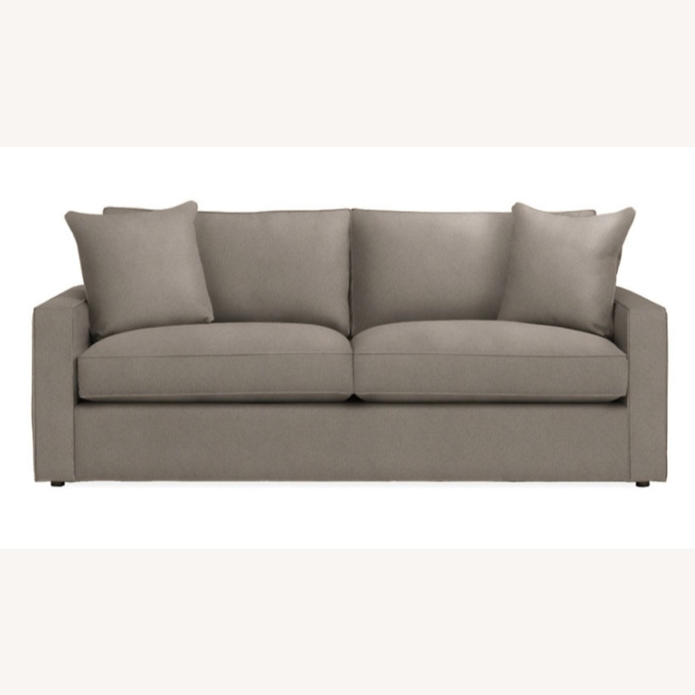 Room & Board Grey York Sofa - image-1